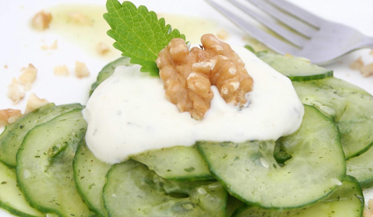 Ensalada de Pepino con Yogur
