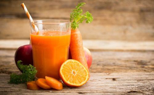 Sopa fría de zanahoria, naranja y jengibre