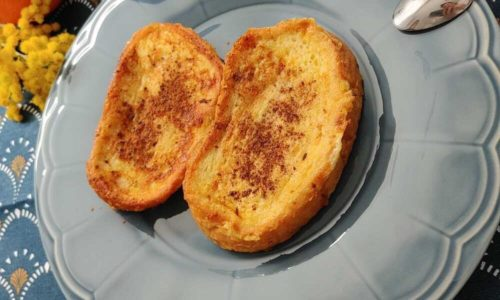 Receta de torrijas sin azúcar a la plancha: jugosas, más ligeras y saludables